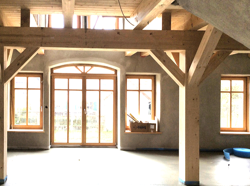 fachwerkh user neu gebaut tradition bewahrt fachwerkhaus in lamerdingen. Black Bedroom Furniture Sets. Home Design Ideas